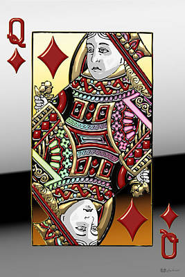 Queen Of Diamonds   Original by Serge Averbukh