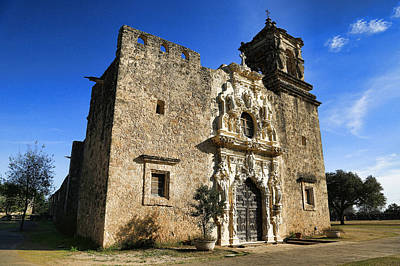 Stone Buildings Photograph - Queen Of The Missions - San Jose by Stephen Stookey