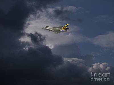 Usaf Painting - Queen Of  The Skies by Celestial Images