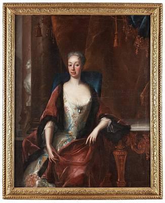 Eleonora Painting - Queen Ulrika Eleonora by MotionAge Designs