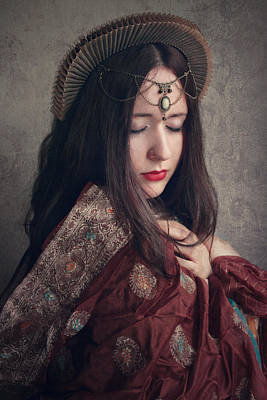 Oriental Woman Photograph - Queen by Cambion Art