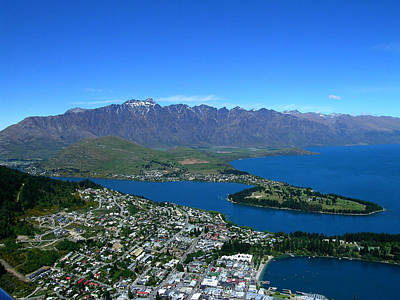 New Zealand Photograph - Queenstown New Zealand by Sandy Taylor