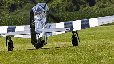 P51 Photograph - Quick Silver At Geneseo by Peter Chilelli