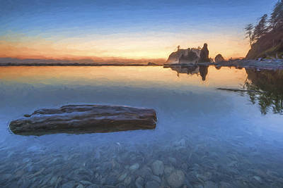 Quiet, Alone And Still II Print by Jon Glaser