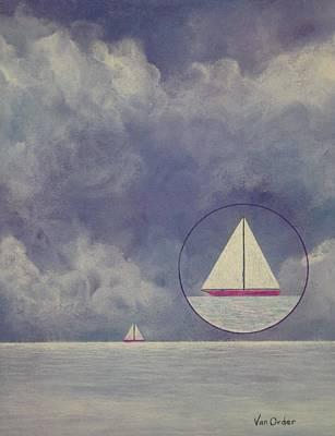 Quiet Before The Storm Print by Richard Van Order