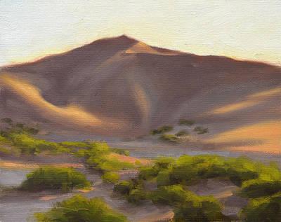 Desert Painting - Quiet Dune by Ben Hubbard