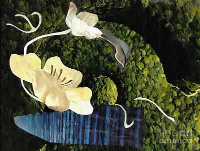 For Business Mixed Media - Quiet Garden by Sarah Loft