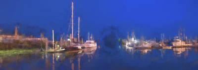Quiet Harbor II Print by Jon Glaser