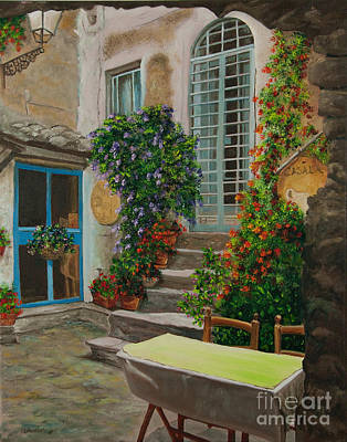 Arches Painting - Quiet Repose by Charlotte Blanchard