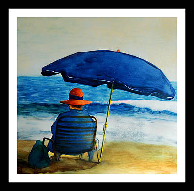 Quiet Time At The Beach Original by Gerard Bianco