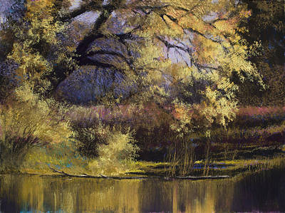 Quiet Waters Print by Vicky Russell