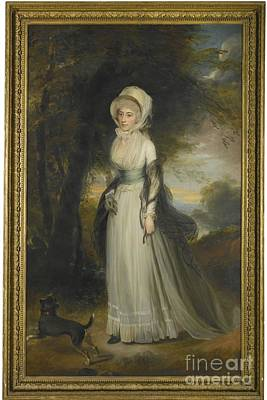 Simeon Painting - R A  Portrait Of Mrs Simeon by Sir William Beechey