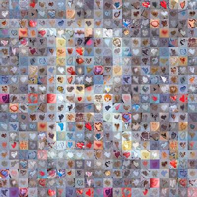 Digital Art - R In Confetti by Boy Sees Hearts
