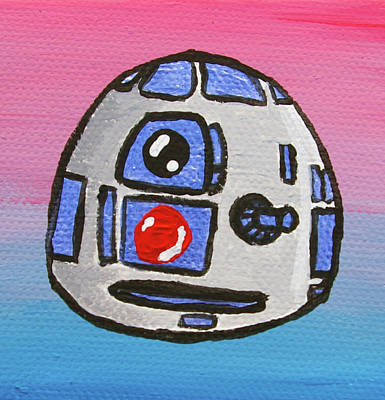 R2d2 Painting - R2-d2 by Jera Sky