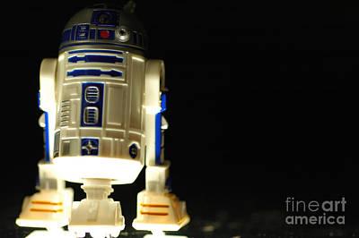 Star Wars Photograph - R2-d2 by Micah May