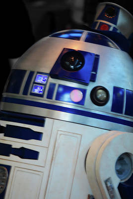 Return Of The Jedi Photograph - R2d2 Gets His Groove On by Sonja Bratz