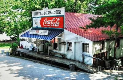 Red Roof Photograph - Rabbit Hash General Store by Mel Steinhauer