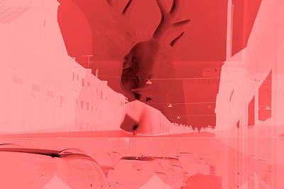 Rabbit In Red Original by Toppart Sweden