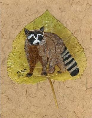 Raccoon Mixed Media - Raccoon by Ralph Root