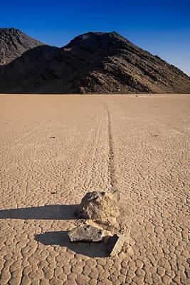 Racetrack Playa Death Valley Print by Steve Gadomski