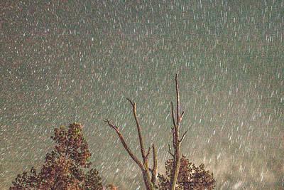 Star Trails Photograph - Radiation Shower by Az Jackson
