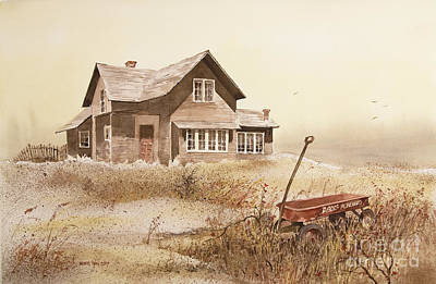 Radio Flyer Wagon Painting - Radio Flyer by Monte Toon