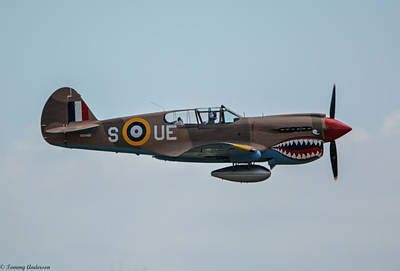 Photograph - Raf P-40 Kittyhawk by Tommy Anderson