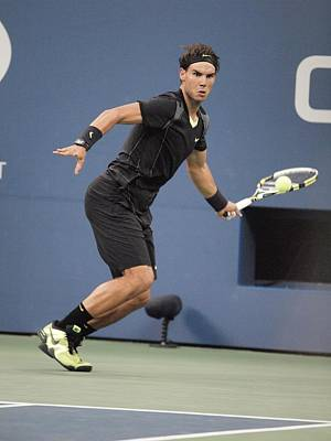 Athletic Sport Photograph - Rafael Nadal In Attendance For Us Open by Everett