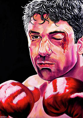 Raging Bull Original by Carlos Escobar