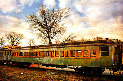 Photograph - Rail Car 2 by Marty Koch