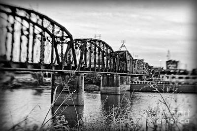 Railroad Bridge Print by Scott Pellegrin