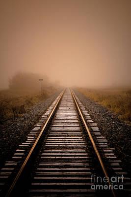 Getty Photograph - Rails V by Ian McGregor
