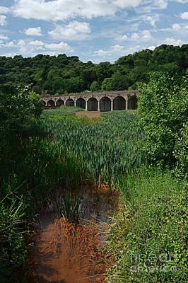 Railway Viaduct At Coalbrookdale Print by Mickey At Rawshutterbug