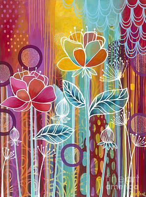 Painting - Raindrops  by Carla Bank