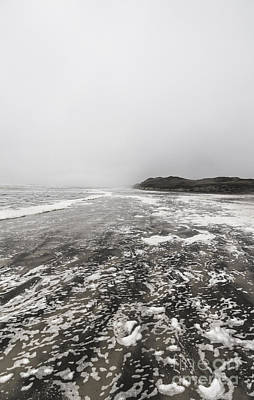 Rain Fog And Wind Seascape Print by Jorgo Photography - Wall Art Gallery
