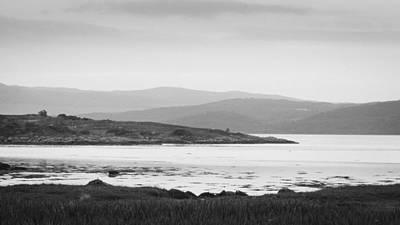 Scottish Photograph - Rain On Achadh-chaorann Bay by Chris Dale