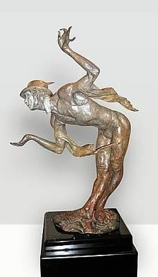 Richard Macdonald Sculpture - Rain by Richard MacDonald