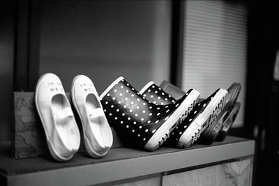 Rain Shoes Print by Snap Shooter jp