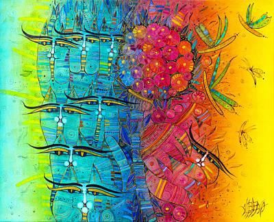 Painting - Rainbow by Albena Vatcheva