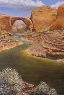 Rainbow Bridge Print by Jerry McElroy