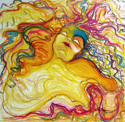 Rainbow Goddess Original by Erika Brown