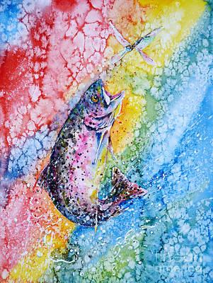 Rainbow Hunter Print by Zaira Dzhaubaeva
