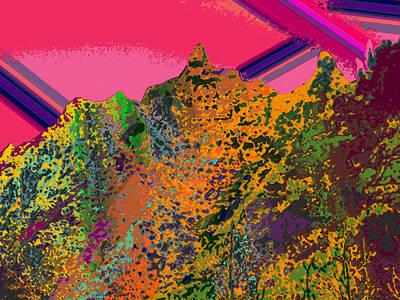 Kauai Digital Art - Moku 8 by Kenneth Grzesik