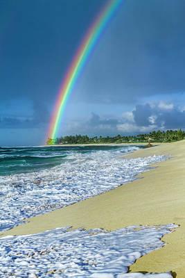 Rainbow Point Print by Sean Davey