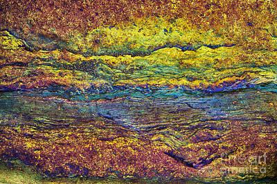 Rainbow Rock  Print by Tim Gainey