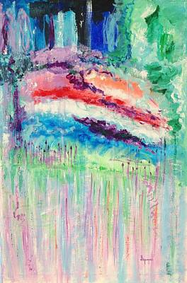 Painting - Rainbow Storm by Diane Pape