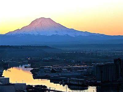 Tacoma Photograph - Rainier 7 by Sean Griffin