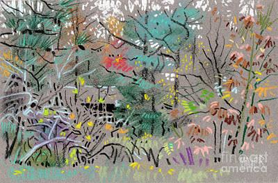 North Carolina Drawing - Rainy Day In High Ridge by Donald Maier