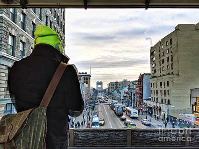 Harlem Ny Photograph - Raising Perspectives by Angelo Merluccio