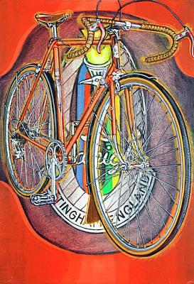 Painting - Raleigh Gran Sport by Mark Howard Jones